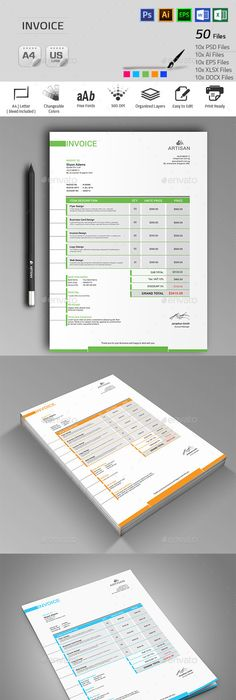 Invoice Proposals, Template and Brand identity - what is invoice