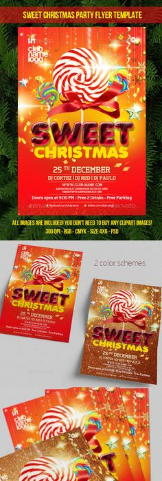 Ugly Sweater Party Flyer Template Psd Design Download Http