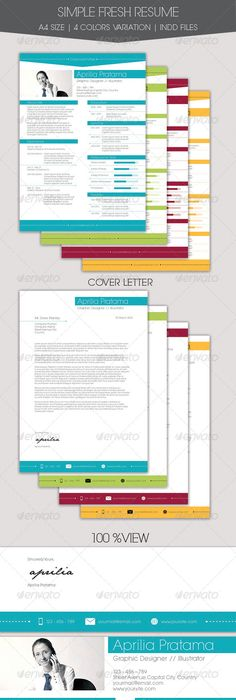 Creative Resume And Cv Template G  A Landscape  Design Haven