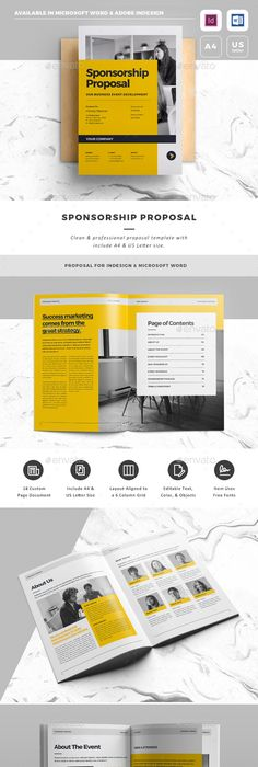 Proposal Proposals, Graphics and Brochure template