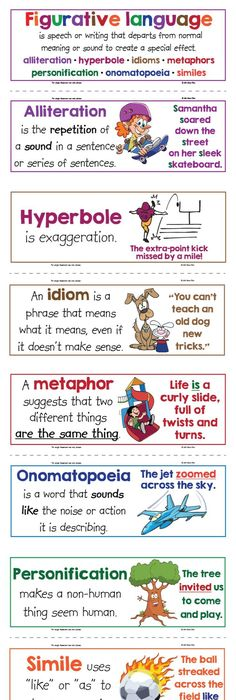 These 8 Figurative Language Posters Are A Great Way For You To