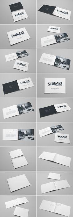 A Landscape Magazine  Catalogue Mockup Psd Mockups Product