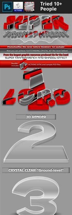 Super 3d glow photoshop 3d and 3d typography super 3d transparent reheart Images