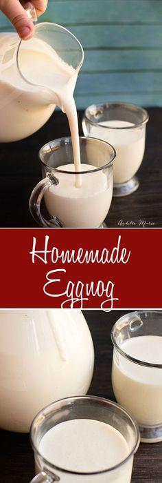 Santas magic potion eggnog and baileys have eggnog to use perfect for parties santa christmas morning or just enjoying all season long this homemade eggnog is easy to make and tastes amazing christmas punch forumfinder Gallery