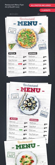Arabic Food Menu Design Restaurant Menu Design That Can Give You