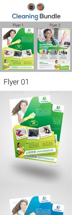 Cleaning Service Cleaning Business Flyer Cleaning Business