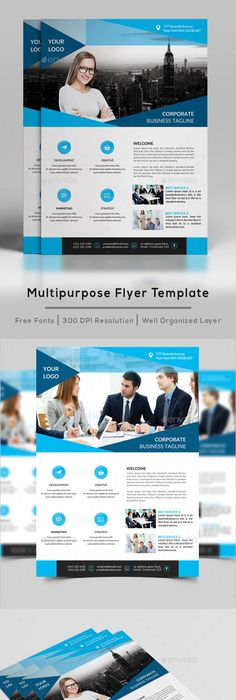 Corporate Flyer Design Bundle - Flyers Template PSD. Download here ...