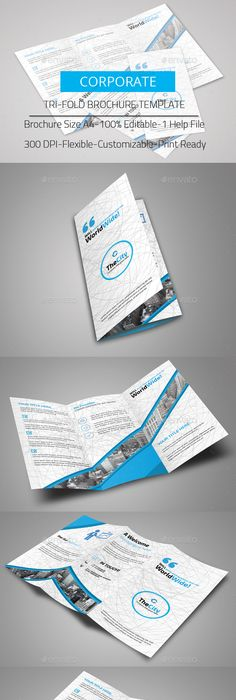 Fitness Tri Fold Brochure Template Psd Brochure Templates