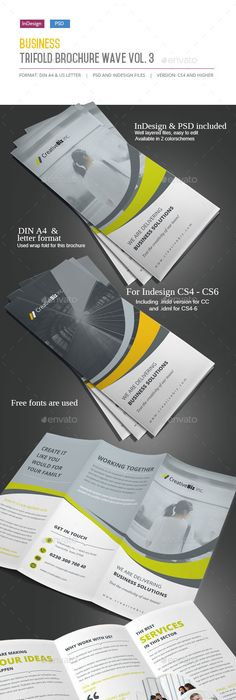 Marvell Sudio Trifold Brochure Brochures Fonts And Tri Fold