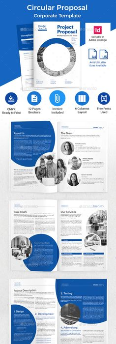 Business Proposal Indesign Template  Business Proposal Indesign