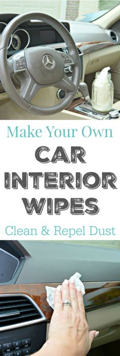 Make Your Own Car Interiors Wipes