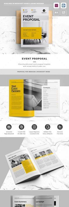 Elite Design Proposalminimal And Professional Project Proposal