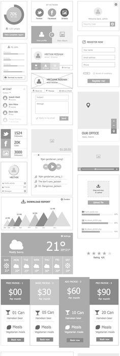 Wireframe \ UI Kit Wireframe, Ui kit and Ui ux - fresh blueprint apple configurator