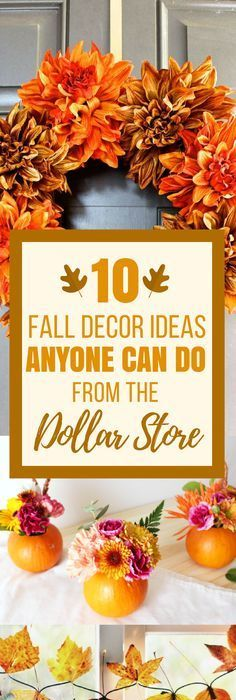 Decorating on a Budget: 12 Dollar Tree Thanksgiving Decor Ideas ...