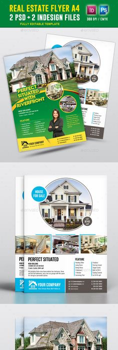 Real Estate Flyer  Ad Template Design  Stocklayouts  Creative