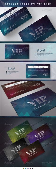 Spot uv business card example styleprint printgoldcoast polygon exclusive vip card graphicriver reheart Gallery