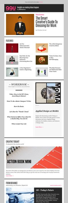 Great Email Newsletter Masthead Design  Google Search
