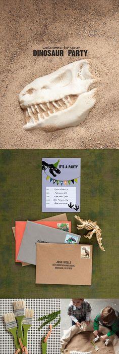 Dinosaur Birthday ROARELI IS TURNING FOUR Dinosaur