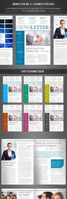 IndesignNewsletterTemplate  Flyer Ideas
