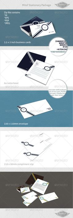 Simple And Clean Stationary   Stationery Printing Print