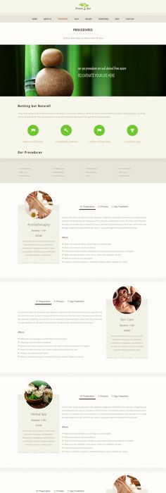 Free Website Template Spa Salon Html HttpWwwTemplatemonster