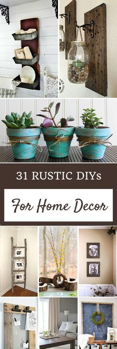 120 cheap and easy diy rustic home decor ideas easy house and craft 31 rustic diy home decor projects solutioingenieria Images