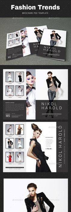 Material Design Brochure Template  Brochure Template Material