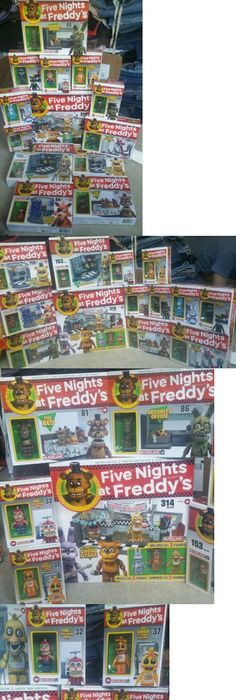 Other Building Toys 19015: Fnaf Five Nights At Freddy S Complete Mcfarlane  Construction Set 13