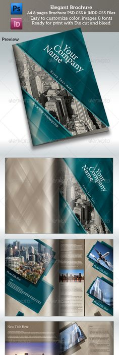 Photographer Portfolio Template No7 Template Photography Brochure