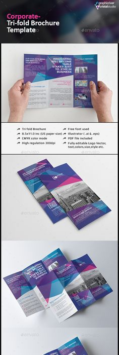 Free Booklet Template Corporate Brochure Templatev289  Brochure Template Corporate .