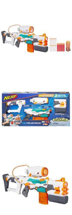 Nerf Soft Dart Gun Toy Modulus Tri-Strike Elite Blaster Custom Shoot Long  Range | Darts, Guns and Toy