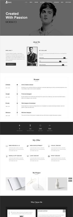 Portfolio For Resume Portme  Cv & Resume Template  Cv Resume Template