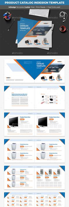 Product Catalog Template | Product catalog template, Product ...