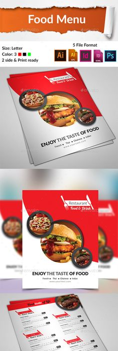 Pizza Menu Flyer  Psd Template  Pizza Menu Psd Templates And Pizzas