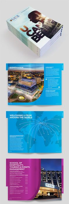 Creative Examples Of College And University Brochure Design