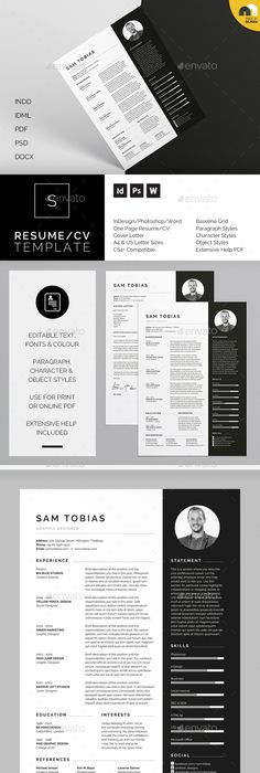 ResumeCv  Blair  Resume Cv Cover Letter Template And Cv Cover