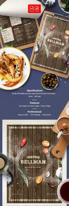 Italian Food Menu | Speisekarte, Grafik design und Grafiken