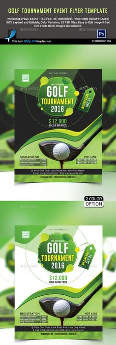Billiard Tournament Flyer Poster Magazine Template  Template