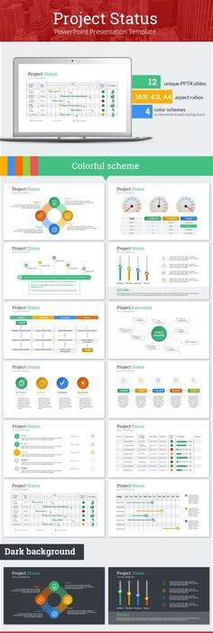 Use The Project Management Powerpoint Templates To Report Your