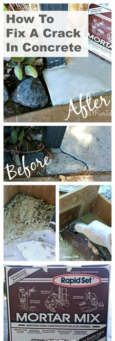 What To Do With an Ugly, Cracked Concrete Patio | Patio ...