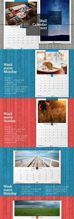 Creative Wall Calendar  V  Creative Walls Creative And