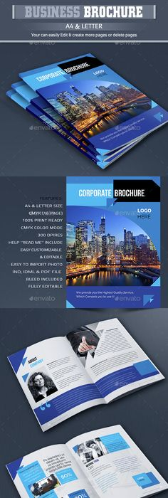 indesign brochure template vol1 paragraph brochures and layouts