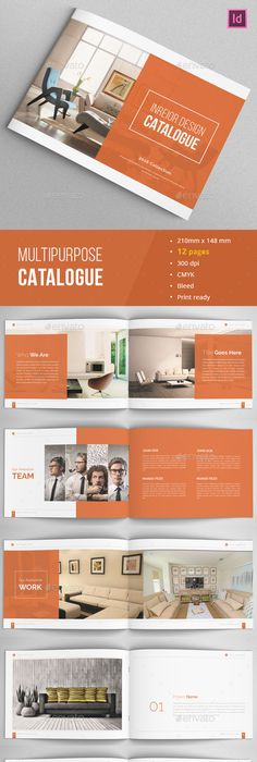 Annual Report Brochure Indesign Template Indesign Templates