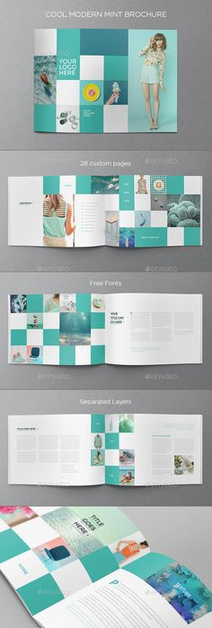 Portfolio Brochure Indesign Indesign Templates Brochures And Template