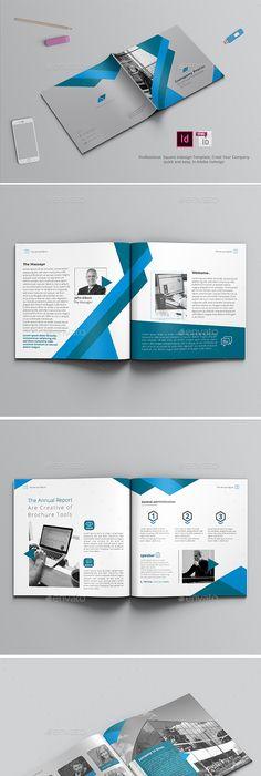 Company Profile Landscape  Company Profile Brochure Template And