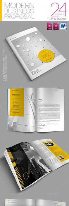 Proposal Template Indesign Indd Download Here Httpsgraphicriver