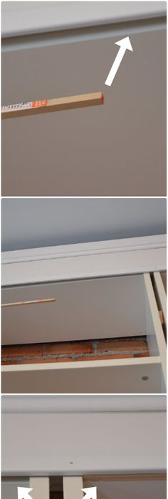 Check out my Ikea Trofast hack. I chalk painted the wood, spray ...
