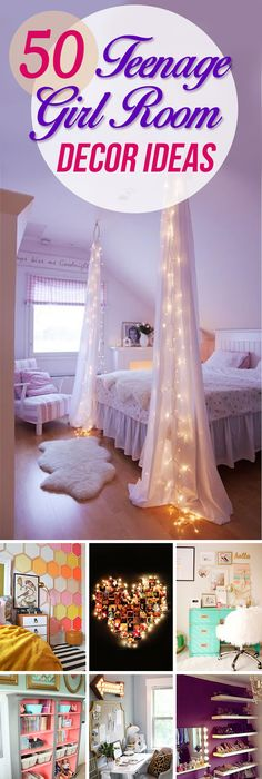 50 Stunning Ideas For A Teen Girlu0027s Bedroom