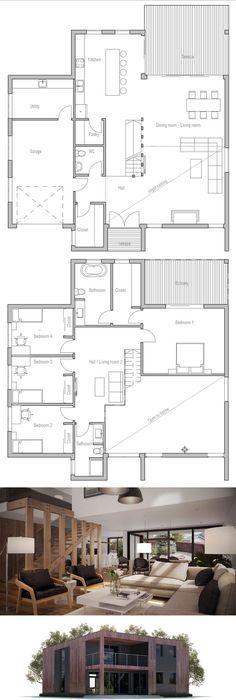 Bungalow de luxe Bungalow, Architecture and Construction - construire sa maisoncom plan