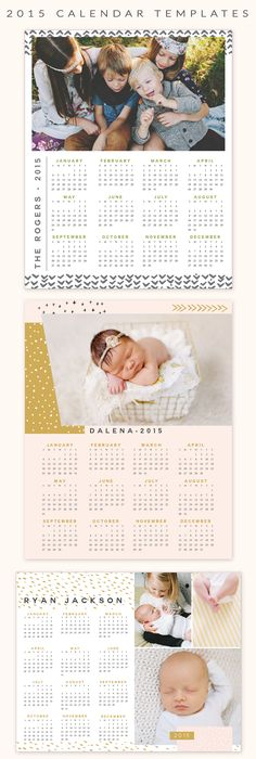 Photoshop Calendar Templates For Photographers
